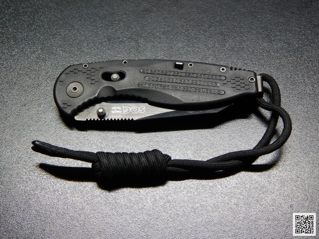 Обзор ножа SOG Aegis Tanto Black - secretsquirrel.com.ua